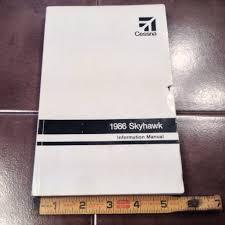 1986 cessna 172p skyhawk information manual u2013 g u0027s plane stuff