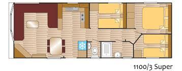Caravan Floor Plans Andes Caravan 1100 3 Super Layout Europa Caravans Hull