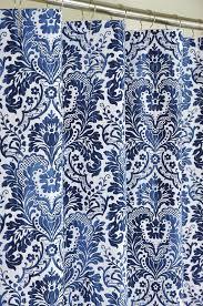 Blue Damask Shower Curtain Decorative Ideas With Navy Shower Curtain Handbagzone Bedroom Ideas