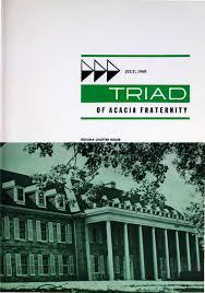 acacia triad vol 63 no 4 jul 1968 by acacia fraternity issuu