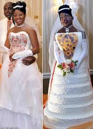 disgusting wedding dresses 9 of the tackiest and ugliest wedding dresses babble