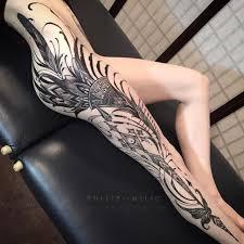 best 25 side piece tattoos ideas on pinterest thigh piece side