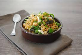 cuisiner le petit eautre salade de petit épeautre citron roquette et graines vegan