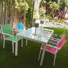 canapé de jardin castorama salon de jardin bas aluminium castorama idées de décoration