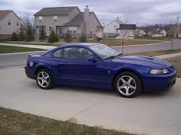 ford mustang 2003 2003 ford svt mustang cobra sonic blue in mi the mustang