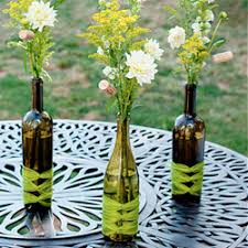 wine bottle wedding centerpieces wine bottle centerpieces craftgawker