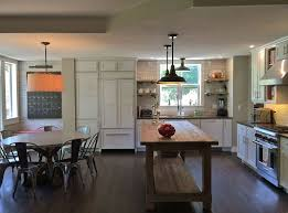 Restoration Hardware Flush Mount Ceiling Light Traditional Kitchen With Undermount Sink Subway Tile In Boulder