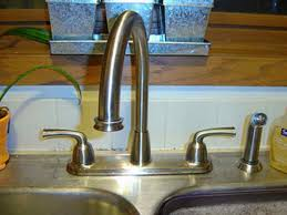 how to fix kitchen faucet drip moen single handle kitchen faucet leaking ellajanegoeppinger