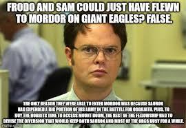 Mordor Meme - giant eagles meme by ediemammon on deviantart
