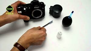 como limpar o ccd de uma câmara slr youtube