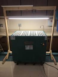 delta downdraft sanding table grizzly downdraft sanding table w new filters and custom light stand