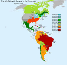 The Americas Map by Abolition Of Slavery Americas By Hillfighter On Deviantart