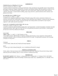 some exles of resume copy and paste resume template templates lovely exles