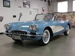 1960 chevrolet corvette horizon blue 1960 chevrolet corvette for sale mcg marketplace