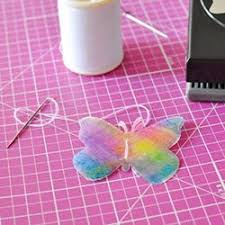 Pink Butterfly Christmas Decorations by 31 Best Butterfly Ornaments And Crafts Images On Pinterest