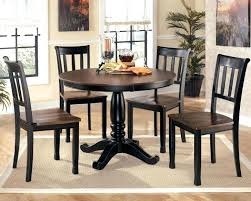 Round Pedestal Dining Table With Extension Leaf Double Pedestal Dining Table With Leaf Butterfly Extension Round