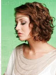 root perms for short hair hippy chic summer style with loose curls side view beauty