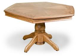 Octagon Poker Table Plans Easy Diy Octagon Table And How To Paint Laminate Classy Clutter