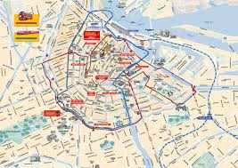 Nyc Metro Map Pdf by Map Of Amsterdam Tourist Attractions Sightseeing U0026 Tourist Tour