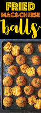 thanksgiving cheese ball recipe fried mac and cheese balls damn delicious