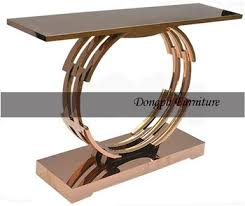 rose gold console table hotel furniture hobby lobby italian rose gold metal console table