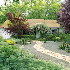 Landscape Ideas For Front Of House by Lessons From A Lawn Free Makeover Sunset