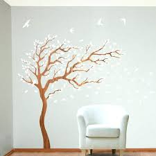 wall decor trees medium size of decor tree artificial trees for home