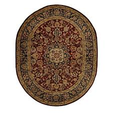 Burgundy Area Rugs Safavieh Classic Collection Cl362a Handmade Burgundy And Navy Wool