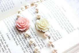 rose pearl bracelet images Rose bracelet bridesmaids gifts pastel pink rose and pearl jpg
