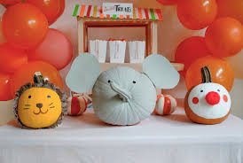 circus themed halloween party project nursery