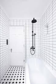 Small Black And White Bathroom Ideas 93 Best Black And White Bathrooms Images On Pinterest Bathroom