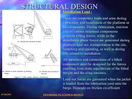 design of jacket structures offshore platform design
