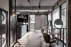 modern barber shop designs hair salon design layouts beauty