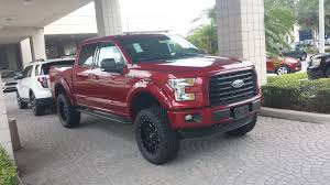 ford truck red aftermarket wheel color on ruby red ford f150 forum