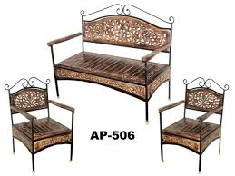 wood and iron sofa table wooden wrought iron sofa set manufacturer wooden wrought iron