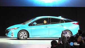lexus internship usa toyota unveils prius prime plug in hybrid car at new york auto show