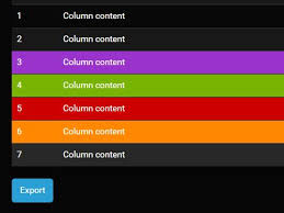 html table mobile friendly exporting html table to xsl csv documents with jquery