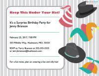 surprise birthday party invitation wording lovetoknow