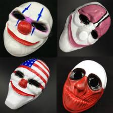 halloween mask store payday 2 chains dallas wolf hoxton hockey mask fancy dress prop