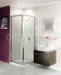 simpsons classic frameless 700mm hinged shower door