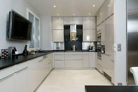 modele cuisine blanche stunning cuisine noir et blanc pictures design trends 2017