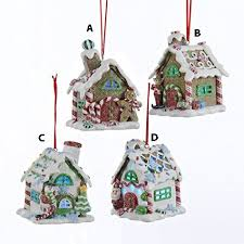 3 5 claydough gingerbread led house ornament express