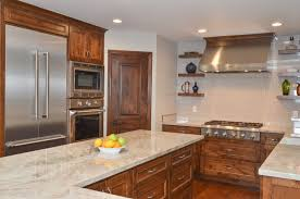kitchen cabinet stain colors on alder napa inspired transitional kitchen dining room remodel in