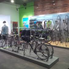 shop in shop interior cadence cycle montreal qc canada u2014 raymond james design