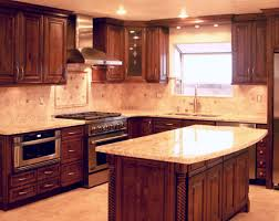 maple cabinet kitchen ideas marvelous light maple cabinets with chocolate glaze and santa