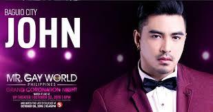 John Bench John Raspado Proclaimed As Mr World Philippines 2016