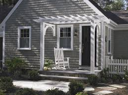 side porch designs a traditional entry pergola frames this front door and small porch