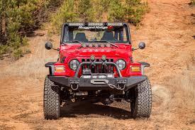 lj jeep hoood light bar
