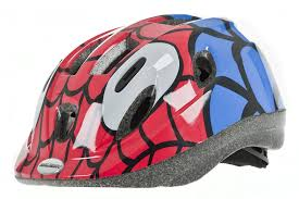 raleigh mystery spiderman boys cycle helmet amazon co uk sports