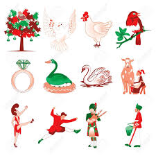 picture of jim shore 12 days of christmas ornaments all can